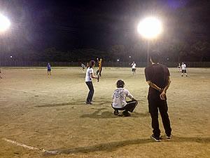ソフトボール部2回目の練習