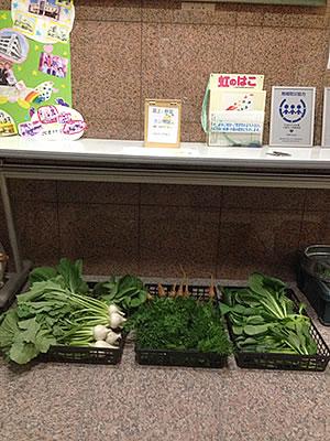 屋上野菜市